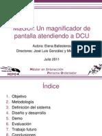 MaGUI Presentación DCU