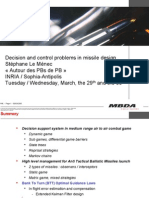 4958123 Decision and Control Problems in Missile Design