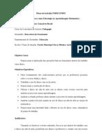Plano de Trabalho PIBID UFRPE