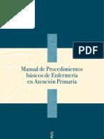 Manual de Procedimientos básicos de Enfermería de Atención Primaria