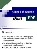 Clase 10 - Grupo de Usuarios-2008