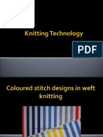 11 Coloured Stitch Designs in Knitting