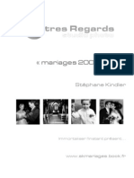 Brochure tarifs photos mariage pour 2007 actuelle