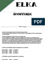 Elka Synthex Schematic