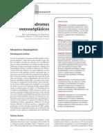 03.015 Síndromes mielodisplásicos