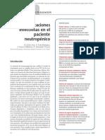 03.017 Complicaciones infecciosas en el paciente neutropénico