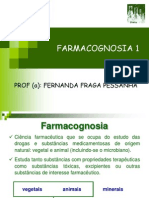FARMACOGNOSIA 1ª aula