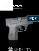 Beretta BU Nano User Manual