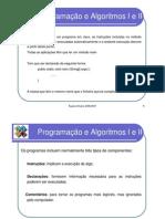 Programação e Algoritmos I e II -  2