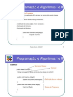 Programação e Algoritmos I e II -  3