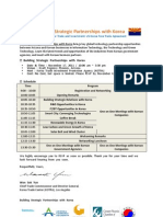 Building Strategic Partnership With Korea ( Final 10.17.11)