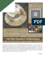 3dsMax Gamma JP