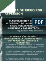 Planificacion y Diseño Unidad de Riego Aspersion