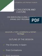 CEA Spanish Civilisation Class 2 First Civilisations