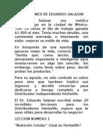 LAS LECCIONES DE EDUARDO SALAZAR