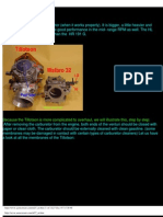 Walbro & Tillotson carburetors