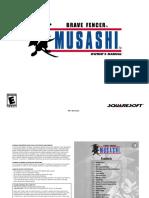 Brave Fencer Musashi [PSX] Manual