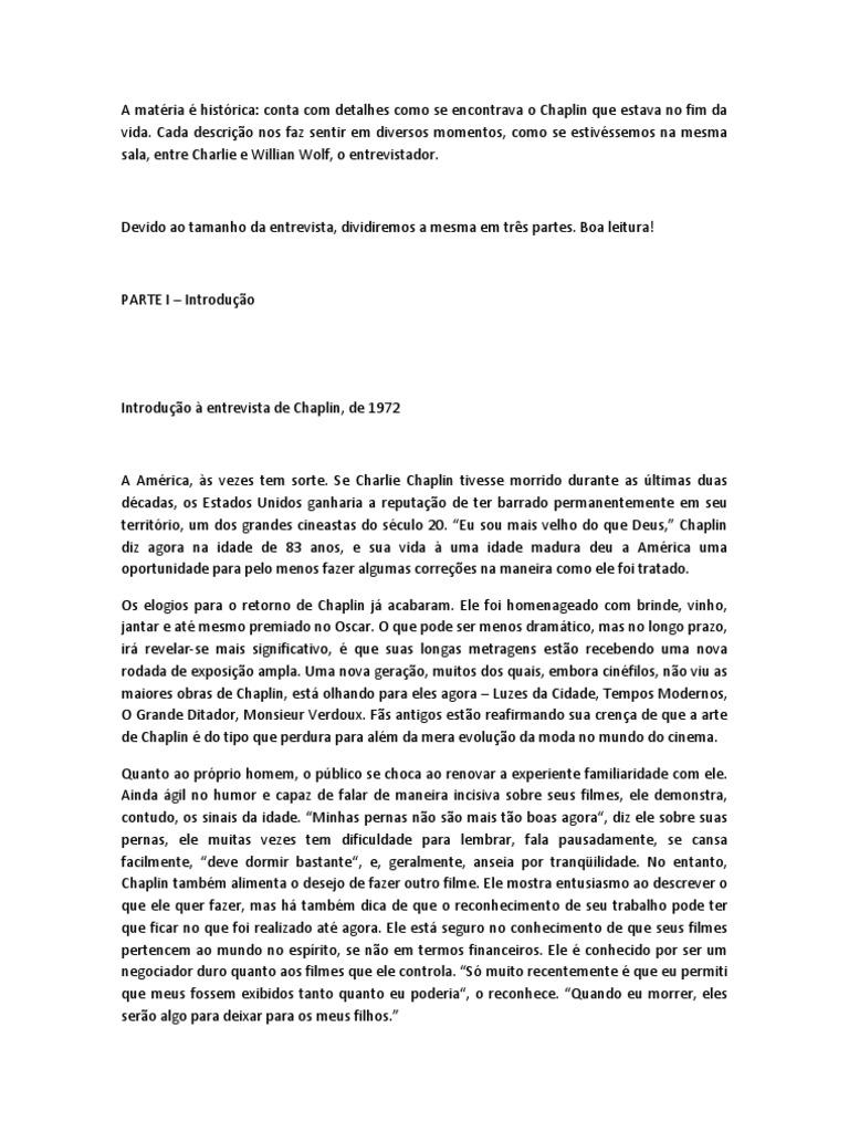 Atemberaubend Resumo Tempos Modernos Zeitgenössisch - Beispiel ...