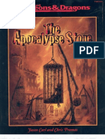 AD&D - Adventure the Apocalypse Stone
