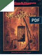 AD&D - Adventure the Apocalypse Stone