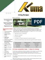 Living Design 4p Brochure