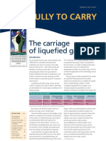 Carriage of Liquified Gas - P& I Club ion