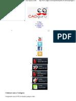 1.4 Como imprimir modelos 3D através do Model Space _ CADguru conhecimento livre na