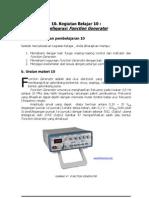 Sub Kompetensi 4 - Function Generator