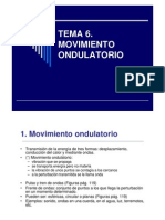 TEMA 6. Movimiento ondulatorio