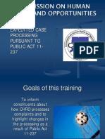 Public Training 11-237 Power Point