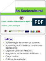 Aula 1- modulo 1 - animaçao sociocultural