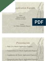 Introduccion a Oracle App Express