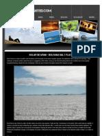 "Salt Flats - ""Solar de Uyuni"" - Bolivia TRAVEL"
