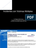 Incidentes Victimas Multiples