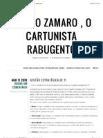 Gestão estratégica de TI « Mauro Zamaro , o Cartunista Rabugento