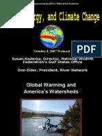 Energy, Water, Climate Don Elder, Susan Kaderka, EPA Webcast 10-3-07