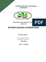 Entorno Nac]. e Internacional Vi Nivel