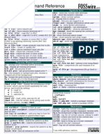 UNIX-LINUX Command Reference