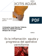 Apendicitis aguda, CJMT