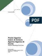 Kedudukan Islam Di Antara Agama Agama Di Dunia