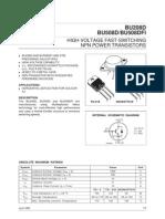 BU508df - 1500v 8A