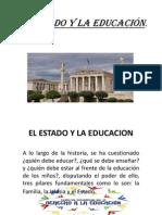 El Estado y la Educación