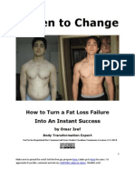 Driven to Change Fat Loss Transformation Guide