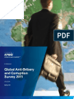 Read KPMG Global Anti-Bribery Corruption Survey 2011