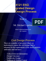 Week 10 - Lecture Slides (Civil Design)