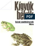 Janisch-Zsámboki-Kigyók, békák