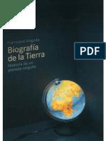 Biografía de la Tierra revisada por Francisco Anguita - 2011