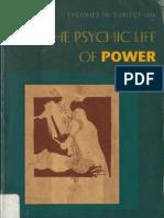 Butler Psychic Life of Power