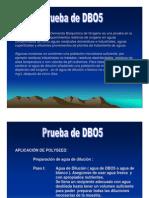 prueba de DBO5