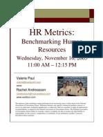HR Metrics - Presentation